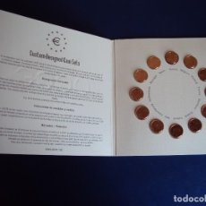 Euros: (MO-180300)COLECCION UCCE - UNITED COIN COLLECTORS OF EUROPE - 12 MONEDAS DE 1 CTS.. Lote 115492199
