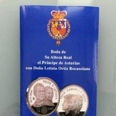 Euros: 12 EUROS BODA CON PROTOCOLO AÑO 2004 , MONEDA DE PLATA . Lote 154744580