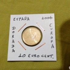 Euros: MONEDA 10 EURO CENT ESPAÑA 2004 SIN CIRCULAR ENCARTONADA. Lote 117065344