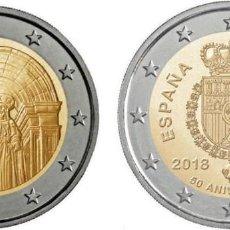 Euros: ESPAÑA 2018 LAS 2 CONMEMORATIVAS. Lote 143933208