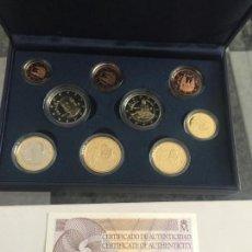 Euros: CARTERA OFICIAL EURO SET ESPAÑA 2014 PROFF. EUROSET SOLO 5000 UNIDADES. Lote 117921851
