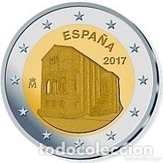 Euros: 2 EUROS ESPAÑA 2017 -SANTA MARIA DEL NARANJO* MONEDA CONMEMORATIVA*-ENCAPSULADA-. Lote 118693243