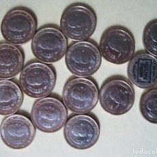 Euros: SERIE DE 1 EURO € ESPAÑA DESDE 1999 HASTA 2011 INCLUSIVES. Lote 119933975