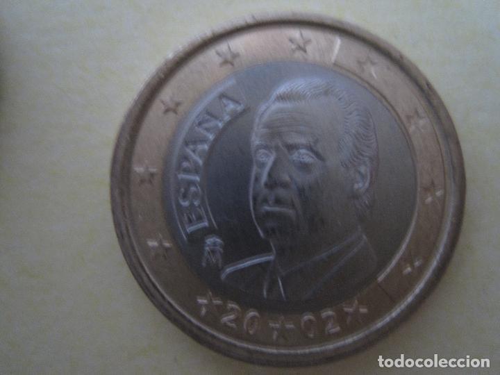 1 EURO € ESPAÑA 2002 BLISTER DE 25 MONEDAS (Numismática - España Modernas y Contemporáneas - Ecus y Euros)