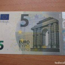 Euros: 9 BILLETES DE 5 EUROS SIN CIRCULAR CORRELATIVOS EL PRECIO ES POR UNIDAD - MARIO DRAGHI ,DEL 2013. Lote 121328399
