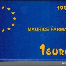 Euros: MONEDA DE 1 EURO HOMENAJE A LA AVIACION ESPAÑOLA AÑO 1997. Lote 121641611
