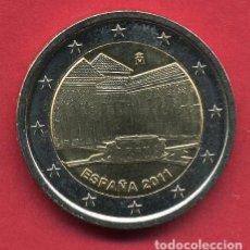 Euros: MONEDA DE 2 EUROS ESPAÑA CONMEMORATIVA AÑO 2011 LA ALHAMBRA NUEVA DE CARTUCHO, ORIGINAL. Lote 231292205