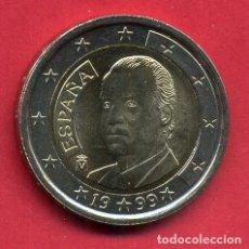 Euros: MONEDA DE 2 EUROS ESPAÑA AÑO 1999 REY JUAN CARLOS I NUEVA DE CARTUCHO, ORIGINAL. Lote 217238408