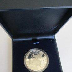 Euros: JUAN CARLOS I * 10 EURO 2005 * IV CENTENARIO DE EL QUIJOTE - LA AVENTURA MOLINOS DE VIENTO * PLATA. Lote 122996507