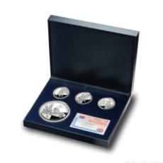 Euros: SET ESPAÑA 3 MONEDAS DE 10 EUROS Y UNA DE 50 AÑO 2005 LV CENTENARIO DEL QUIJOTE. Lote 123039691