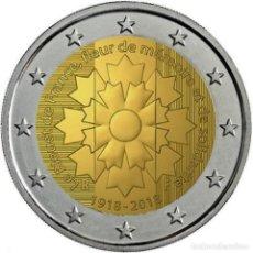 Euros: 2 EUROS FRANCIA 2018 FIN DE LA GRAN GUERRA. Lote 244902835