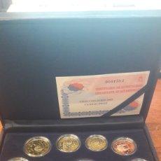 Euros: ESPAÑA 2005 ESTUCHE EUROS PROFF FNMT CERTIFICADO N 1584 8 VALORES NUMISMÁTICA COLISEVM COLECCIONISMO. Lote 125889134