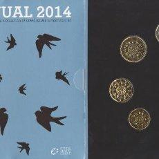 Euros: MONEDAS EUROS - PORTUGAL - SERIE 2014 - EN CARTERA OFICIAL. Lote 126638751