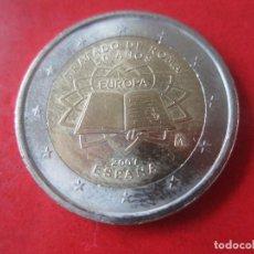 Euros: ESPAÑA 2 EUROS CONMEMORATIVOS 2007 50 AÑOS TRATADO DE ROMA. Lote 221642235