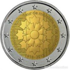 Euros: FRANCIA 2 EUROS 2018 LE BLEUET DE FRANCE. Lote 174118610