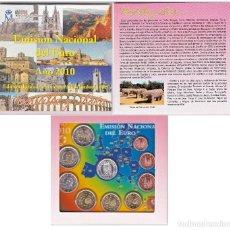 Euros: ESPAÑA. CARTERA EUROS 2010. CASTILLA-LEÓN. Lote 127445995