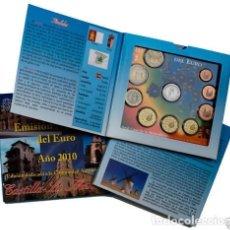 Euros: ESPAÑA. CARTERA EUROS 2010. CASTILLA-LA MANCHA. Lote 127446143