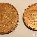 Euros: MONEDA DE 1 CÉNTIMO Y MONEDA DE 2 CÉNTIMOS (2000) , FRANCIA.. Lote 130277966