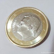 Euros: MONEDA DE 1 EURO ESPAÑA 2018 NUEVA SIN CIRCULAR, RECIEN SACADA DE CARTUCHO. Lote 130367870