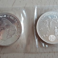Euros: LOTE 2 MONEDAS 20 EUROS DE PLATA 2010. Lote 130418060