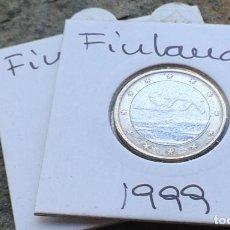 Euros: FINLANDIA 2 MONEDAS DE 1 EURO. Lote 130717799