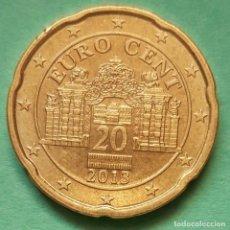 Euros: AUSTRIA - 20 EURO CENT 2013 - MUY EBC - VISITA MIS OTROS LOTES Y AHORRA GASTOS DE ENVÍO. Lote 130726419
