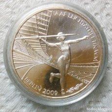 Euros: ALEMANIA - 10 EURO 2009 PLATA EN CÁPSULA - CAMPEONATO DEL MUNDO ATLETISMO DE MUJERES. Lote 130953908