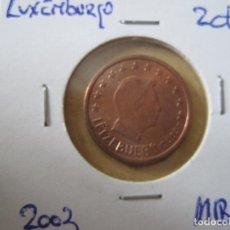 Euros: LUXENBURGO 2 CTMS. 2003. Lote 131040088