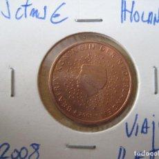 Euros: HOLANDA 5 CTMS. 2008. Lote 131040172