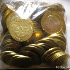 Euros: LOTE 50 EUROS AL CAMBIO EN MONEDAS DE 50C Y 1 E EUROPRUEBAS VATICANO 75 MONEDAS. Lote 131254455