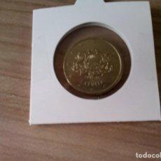 Euros: MONEDA DE 50 CENTIMOS DE LETONIA. Lote 131556206