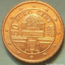 Euros: AUSTRIA - 50 EURO CENT 2002 - MUY EXCELENTE CALIDAD - LA DE LA FOTO. Lote 131643978
