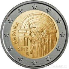 Euros: ESPAÑA 2 EURO 2018. SANTIAGO DE COMPOSTELA.. Lote 254271695