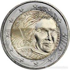 Euros: 2 EUROS FRANCIA 2018 SIMONE VEIL. Lote 244902985