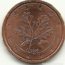 Euros: ALMANIA 2003 2 EURO CENT LAS 5 CECAS A-D-F-G-J S/C. Lote 248128815