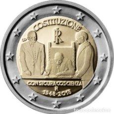 Euros: ITALIA 2018 2€ CONSTITUCION ITALIANA. Lote 194680720