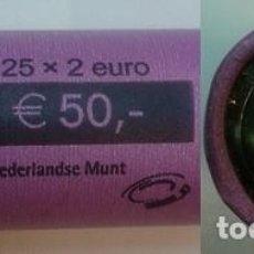 Euros: CARTUCHO DE EUROS DE HOLANDA 2002 - 25 MONEDAS SIN CIRCULAR.. Lote 134379954