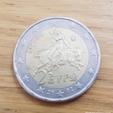 Euros: MONEDA DE 2€ GRECIA ERROR. VER FOTOS.. Lote 134555574