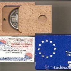 Euros: 5 EURO DE PLATA DE 1998. ESTUCHE + CERTIFICADO. GUARDIA REAL. Lote 135596118
