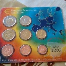 Euros: CARTERA DE EUROS AÑO 2003 ESPAÑA. Lote 135911455