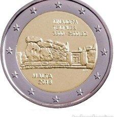 Euros: 2 EURO CONMEMORATIVA MALTA 2018 TEMPLOS MNAJDRA SC. Lote 163986108
