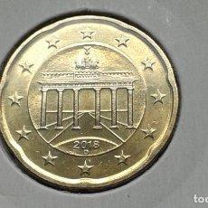 Euros: ALEMANIA 20 CENTIMOS 2018 (D). Lote 137325494