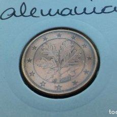 Euros: ALEMANIA 5 CENTIMOS DE EUROS 2007 (G). Lote 137326682