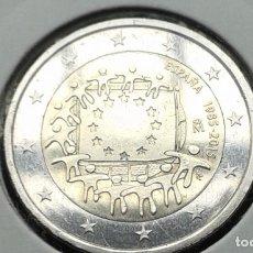Euros: ESPAÑA 2 EUROS 30 ANIVERSARIO BANDERA EUROPEA 2015. Lote 137329118
