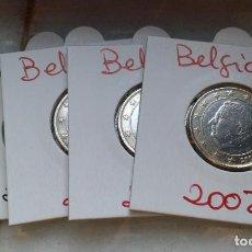 Euros: BELGICA 4 MONEDAS DE 1 EURO. Lote 137336030