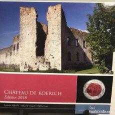 Euros: LUXEMBURGO 2018 CASTILLO KOERICH 5 EUROS NIOBIO PLATA. Lote 137366774