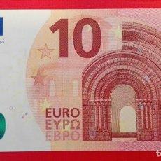 Euros: BILLETE NUEVO 10 € MARIO DRAGUI 2014 VA. Lote 137503006