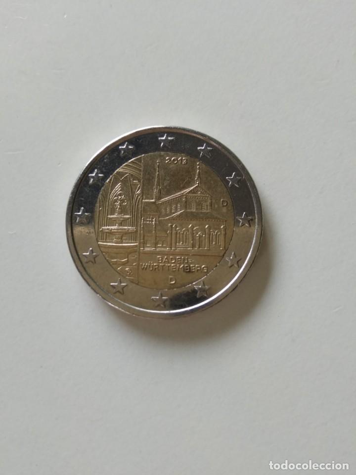 MONEDA 2 EUROS ALEMANIA CONMEMORATIVA (Numismática - España Modernas y Contemporáneas - Ecus y Euros)