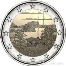 Euros: 2 EUROS CONMEMORATIVA FINLANDIA 2018 SAUNA SC. Lote 147483702