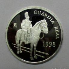 Euros: GUARDIA REAL (INFANTERIA), 5 EUROS 1998. PLATA 925/000. LOTE 1348. Lote 140460254